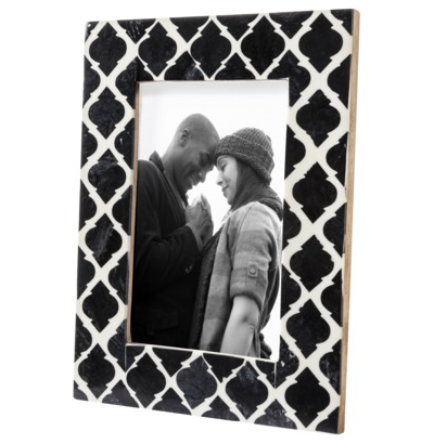 Black & White Inlay Frame