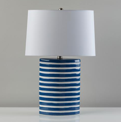 Blue Nautical Table Lamp