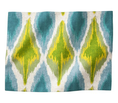 Ikat Print Cool Placemats Set of 4