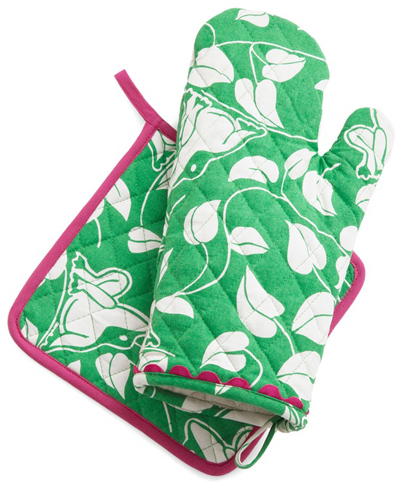 Croak Madame Oven Mitt & Pot Holder Set