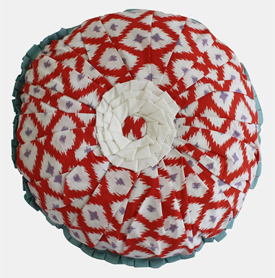 Dena Home 'Paradiso' Round Pillow