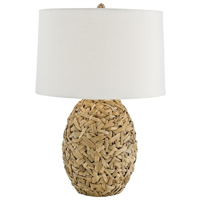Camen Woven Natural Lily Grass Lamp