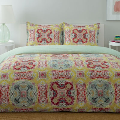 City Scene Medallion Paisley Comforter and Duvet Set