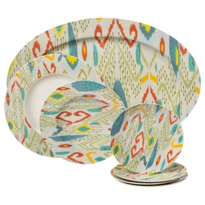 Ikat Dinnerware Collection