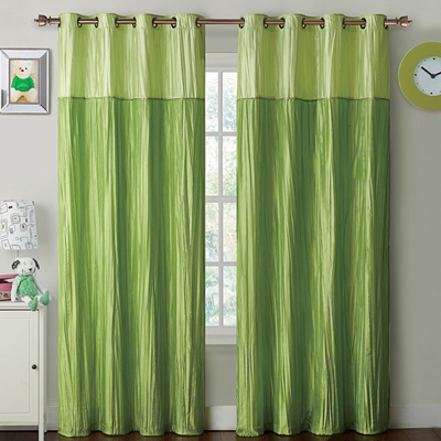 Green curtains target
