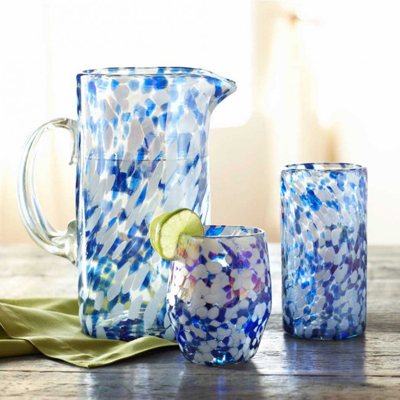 Recycled Glass Luster Collection