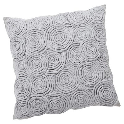 Rose Twist Pillow Cover