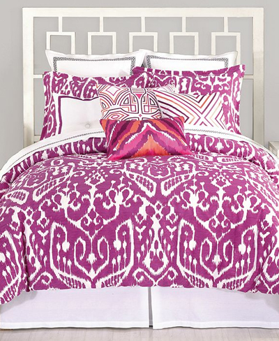 Trina Turk Ikat Purple Bedding