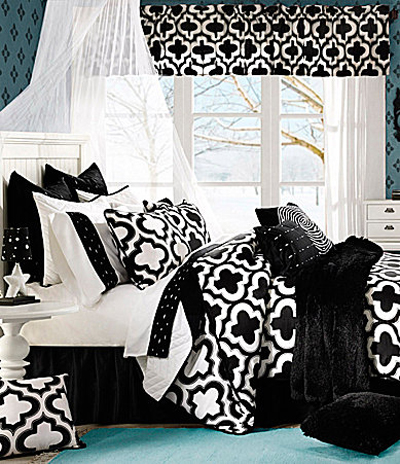 zina black bedding collection
