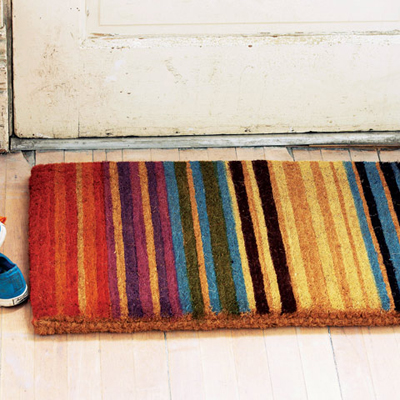 Amalfi Striped Doormat Decor By Color