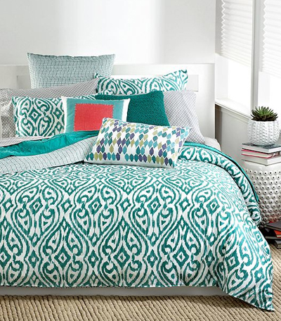 bar iii tali bedding collection - Turquoise Bedding