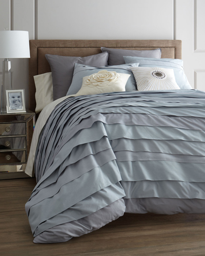 """Belgravia"" Ice Blue Bed Linens"