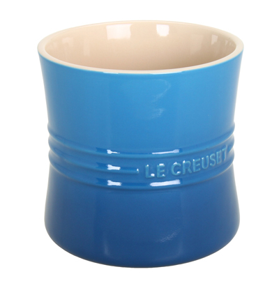 Blue Le Creuset Large Utensil Crock