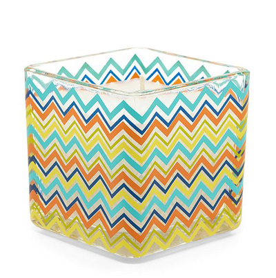 Chevron Citronella Candle