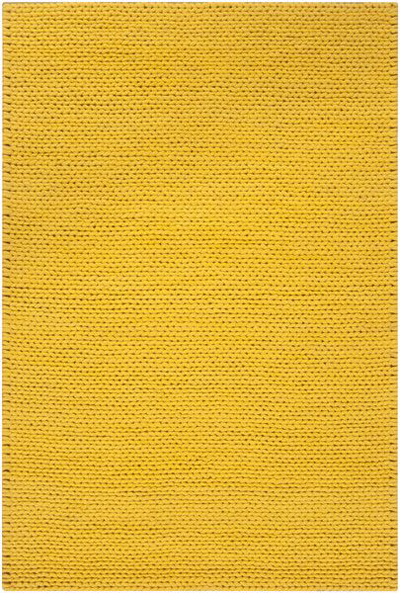 Fargo Braided Area Rug in Golden Raisin