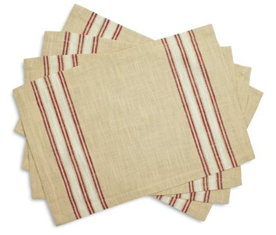 Farmhouse Stripe Placemats