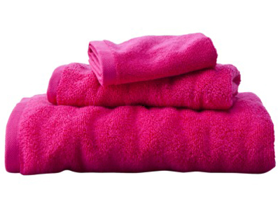 Fiery Pink Towel Collection