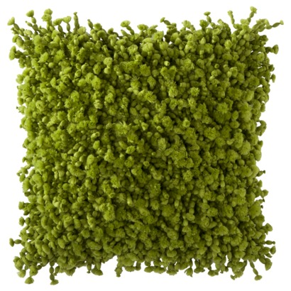 Green Chunky Texture Toss Pillow