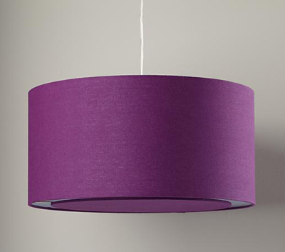 Hangin' Around Purple Ceiling Lamp