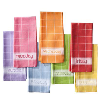 Happy Days Dish Towel Set