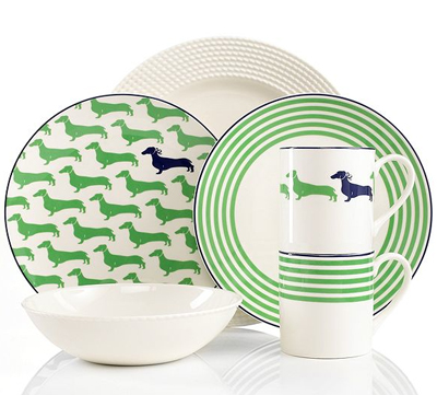 Kate Spade Wickford Dinnerware Collection