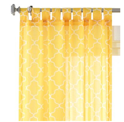 Decorating Yellow Window Panels Sheer Yellow Curtains Curtain Blog