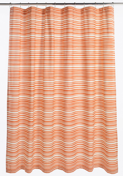 Mixed Stripe Shower Curtain