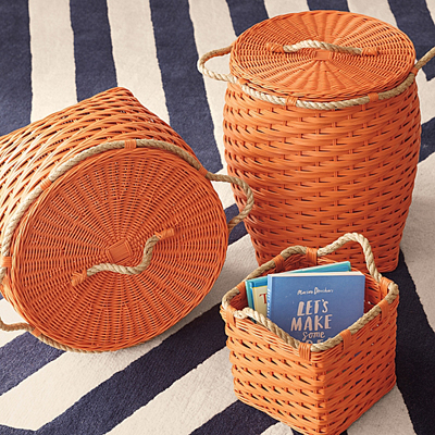 Orange Rope Bin Collection