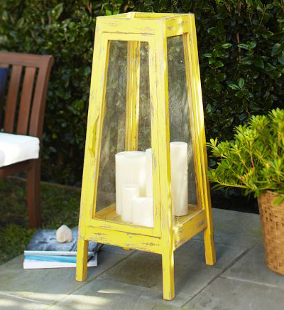 Oversized Yellow Lantern
