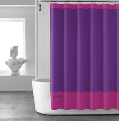 PANTONE Universe Tonal Shower Curtain