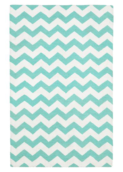 Pool Chevron Rug