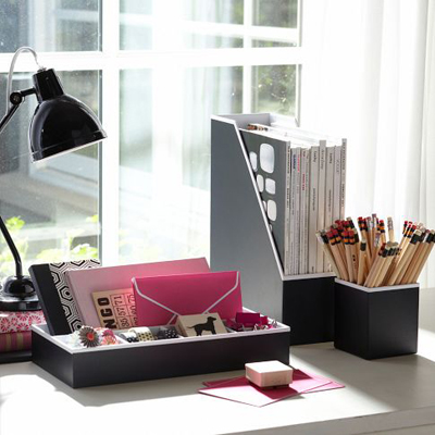 Preppy Paper Desk Accessories