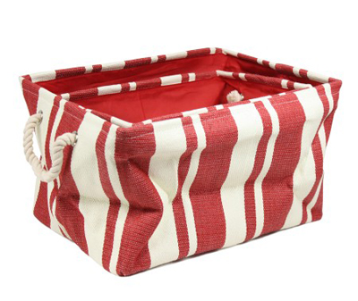 Red Nesting Storage Bins