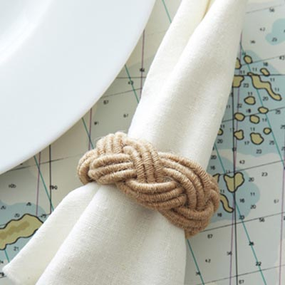 Rope Napkin Ring