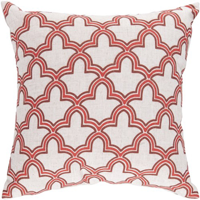 Surya Cloud Coral Cream Pillow