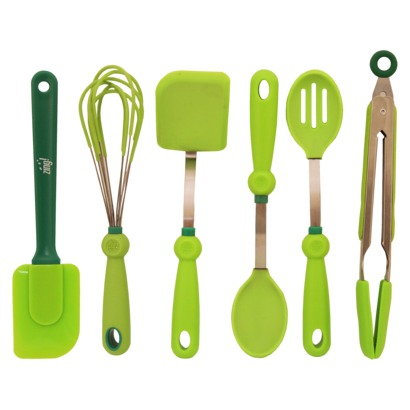 Zing 6 Piece Green Gadget Set