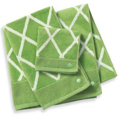 kate spade new york Gardner Street Bath Towels