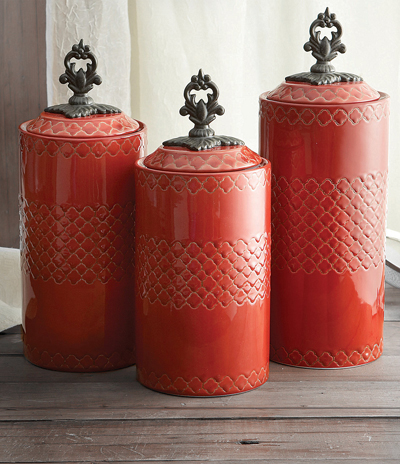 American Atelier Quatra Canister Set Decor By Color