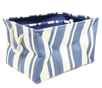 Blue Nesting Storage Bins