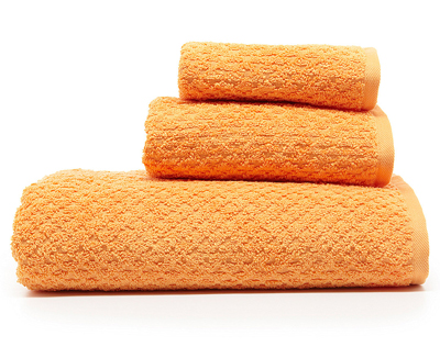 Brights Natalie Orange Bath Towels