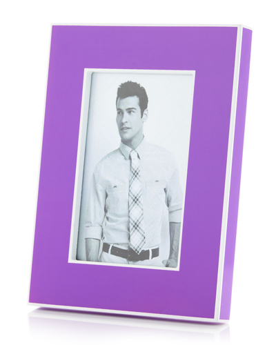 Enamel Purple Frame