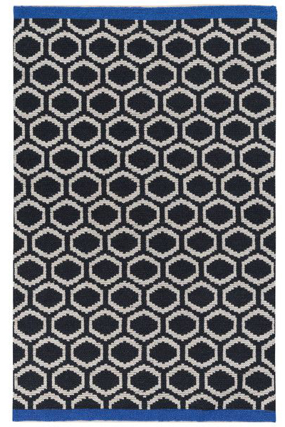 Giuliano Graphite Graphic Patterned Area Rug