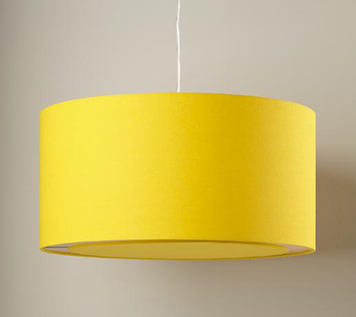 Hangin' Around Yellow Ceiling Lamp