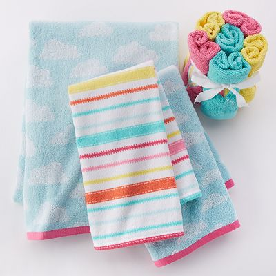 In The Air Bath Towels
