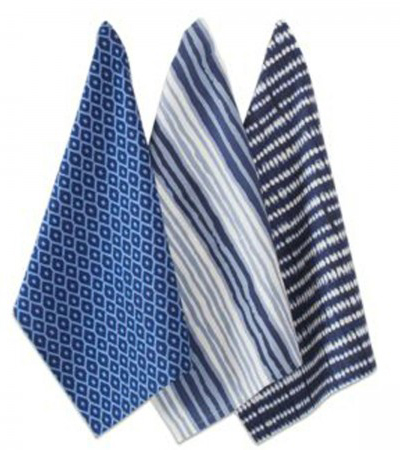 Indigo Dishtowel Set