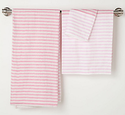Morihata Ribbon Towel in Pink