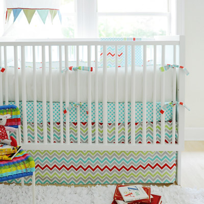 New Arrivals Crib Bedding Jellybean Parade