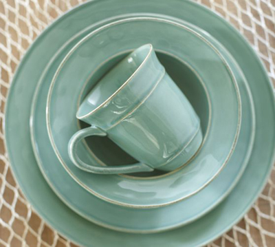 Turquoise Cambria Dinnerware & Turquoise Cambria Dinnerware | Decor by Color