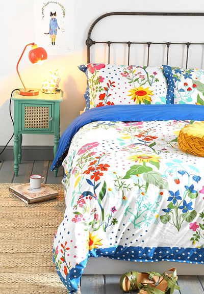 Wild Bloom Duvet Cover