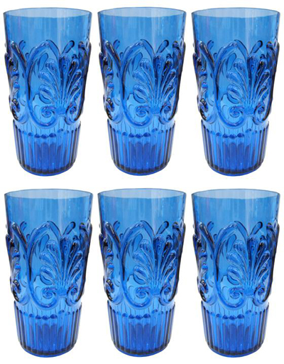 Florence Iced Tea Glasses